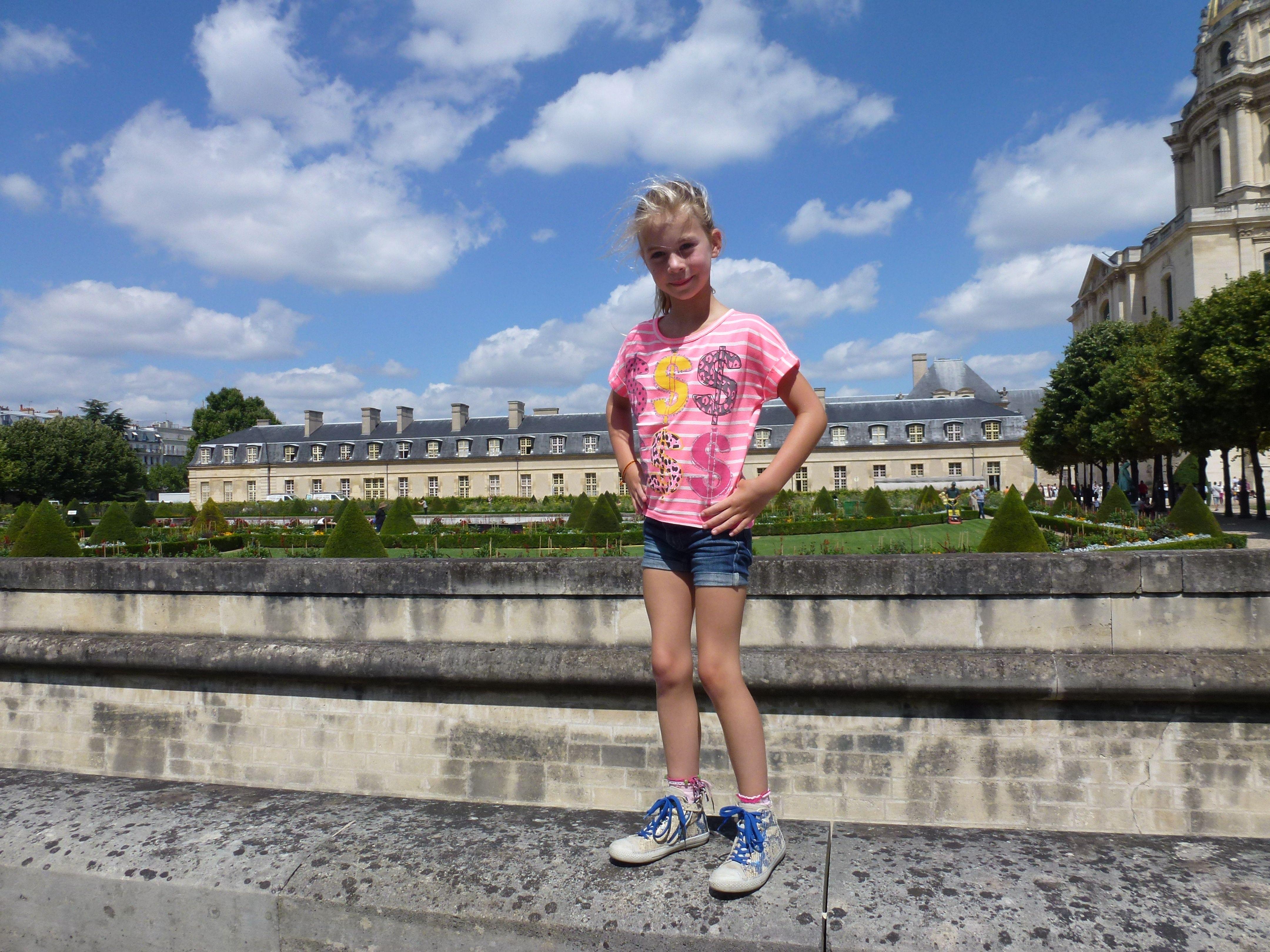 Bente in Parijs