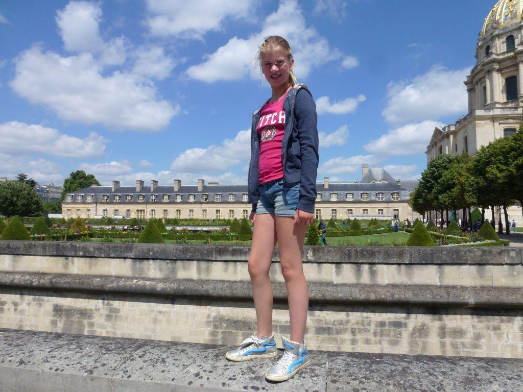 Sophie in Parijs