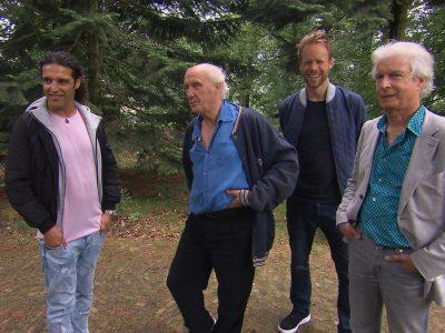 Ali B en Diggy Dex op volle toeren met Herman van Veen en Boudewijn de Groot