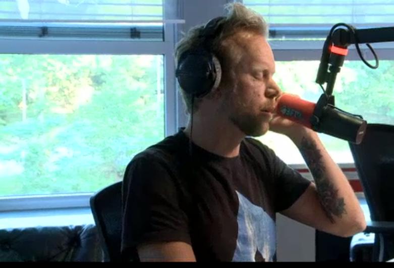 Diggy Dex Sterren Tellen bij Giel op 3FM (17 juli 2015)
